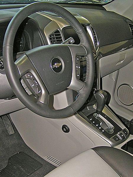 Chevrolet captiva automata construct 2012