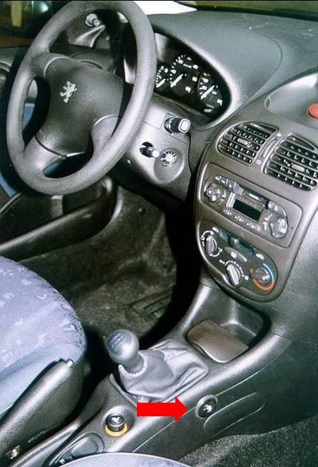 Peugeot 206 manualis