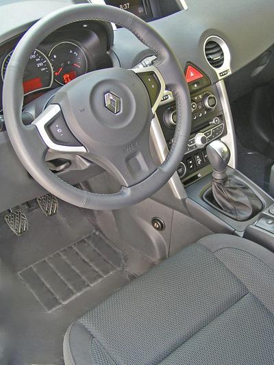 Renault koleos manualis