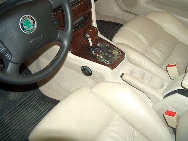 skoda superb tiptronic